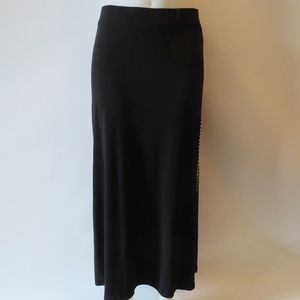 MICHAEL KORS LONG STUDDED STRAIGHT SKIRT SZ: S *